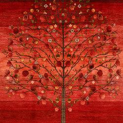Gabbehs Flora & Fauna Tree of Life 3   Tappeti / Tappeti d'autore   Zollanvari