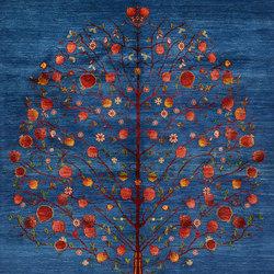 Gabbehs Flora & Fauna Tree of Life 4 | Tappeti / Tappeti d'autore | Zollanvari