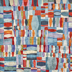 Gabbehs Geometric Quilt Crazy | Tappeti / Tappeti d'autore | Zollanvari