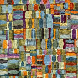 Gabbehs Geometric Quilt Crazy 1 | Tappeti / Tappeti d'autore | Zollanvari