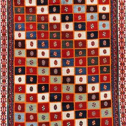 Gabbehs Heritage Old Kashkuli Kouchak Squares | Rugs / Designer rugs | Zollanvari