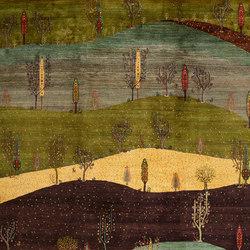 Gabbehs Landscape Landscapes of my Fatherland 3 | Formatteppiche / Designerteppiche | Zollanvari