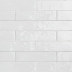 Betonbrick Wall White Glossy | Ceramic tiles | TERRATINTA GROUP