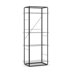 Florence Shelf Iron Black | Large | Librerías | NEW WORKS