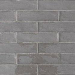 Betonbrick Wall Mud Glossy | Ceramic tiles | TERRATINTA GROUP