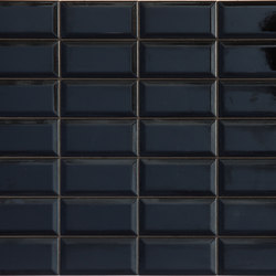 Betonbrick Wall Black Diamond Glossy | Ceramic tiles | TERRATINTA GROUP