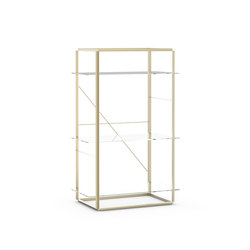 Florence Shelf Raw Gold | Medium | Shelving | NEW WORKS