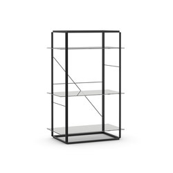 Florence Shelf Iron Black | Medium | Regalsysteme | NEW WORKS
