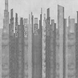 Retro Story City | Wall coverings | GLAMORA