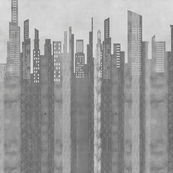 Retro Story City | Revêtements de murs | GLAMORA