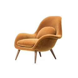 Swoon Lounge Chair | Poltrone lounge | Fredericia Furniture