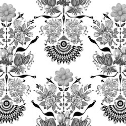 Timestory Flowers | Wall coverings | GLAMORA