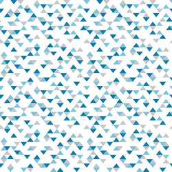 Colour Blocking Triangles | Bespoke wall coverings | GLAMORA
