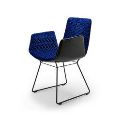 Amelie | Armchair with wire frame | Chairs | Freifrau Sitzmöbelmanufaktur