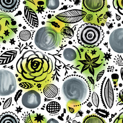 Symbiosis Walldoodle | Bespoke wall coverings | GLAMORA