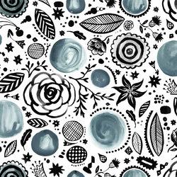Symbiosis Walldoodledrops | Bespoke wall coverings | GLAMORA