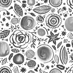 Symbiosis Walldoodledrops | Wall coverings | GLAMORA