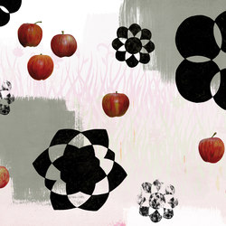 Symbiosis Apple | Bespoke wall coverings | GLAMORA