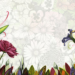 Symbiosis Flower | Wall coverings | GLAMORA