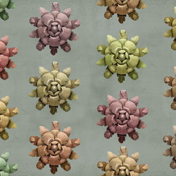 Symbiosis Rosette | Bespoke wall coverings | GLAMORA