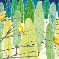 Sweet Little Dots Summervogel | Bespoke wall coverings | GLAMORA