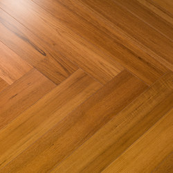 Par-ky Twist 06 Sealed Teak | Wood flooring | Decospan