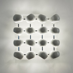 White Moons 4x4 Wall lamp | General lighting | Licht im Raum