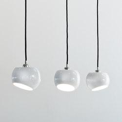 White Moons 3 Pendulum | Illuminazione generale | Licht im Raum