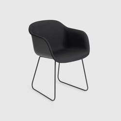 Fiber Armchair | sled base front upholstered | Visitors chairs / Side chairs | Muuto