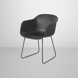 Fiber Armchair | sled base | Visitors chairs / Side chairs | Muuto
