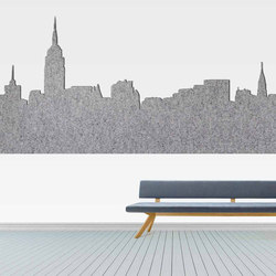 ECOfelt | Sound absorbing wall systems | Slalom