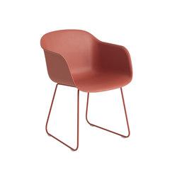 Fiber Armchair | sled base | Chaises | Muuto
