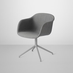 Fiber Armchair | swivel base upholstered | Besucherstühle | Muuto