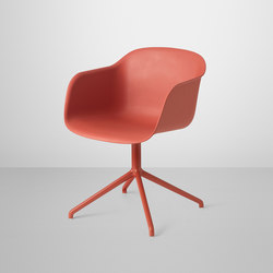 Fiber Armchair | swivel base | Chaises | Muuto