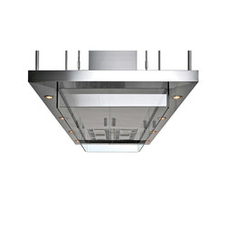 Extraction Systems | Convivium island hood | Kitchen hoods | Arclinea