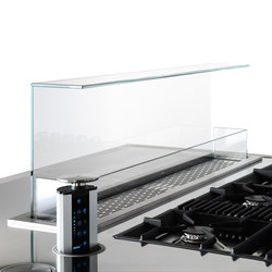 Extraction Systems | Hide hood for top | Kitchen hoods | Arclinea