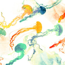 Visions Jellyfish | Revestimientos de pared | GLAMORA