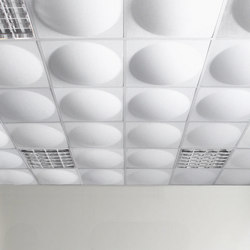 ECOround ceiling | Ceiling systems | Slalom