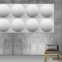 ECOround wall | Wall panels | Slalom