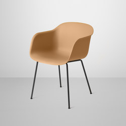 Fiber Armchair | tube base | Visitors chairs / Side chairs | Muuto