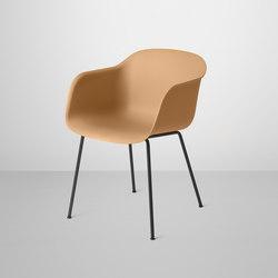 Fiber Armchair | tube base | Sedie visitatori | Muuto
