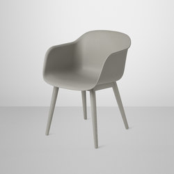 Fiber Armchair | wood base | Visitors chairs / Side chairs | Muuto