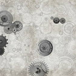 Fancy Clockwork | Bespoke wall coverings | GLAMORA