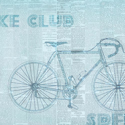 Fancy Bike Club | Wall coverings | GLAMORA