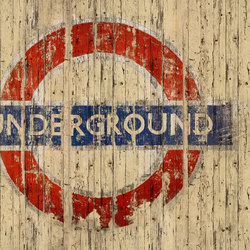 Fancy Going Underground | Revestimientos de pared | GLAMORA