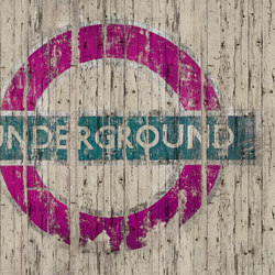 Fancy Going Underground | Rivestimenti pareti | GLAMORA