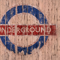 Fancy Going Underground | Revêtements de murs | GLAMORA