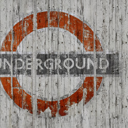 Fancy Going Underground | Bespoke wall coverings | GLAMORA