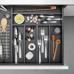 Drawers | Kitchen organization | Arclinea