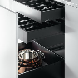 Cajones | Kitchen organization | Arclinea